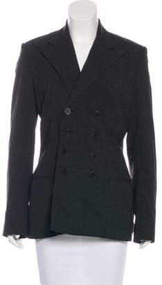 Ralph Lauren Wool Double-Breasted Blazer