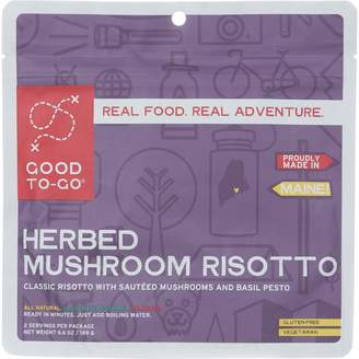Good To Go Good To-Go Mushroom Risotto Entree - 2 Servings