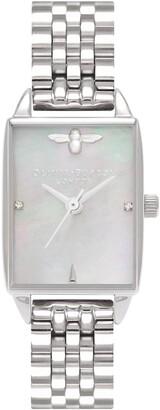 Olivia Burton Beehive Bracelet Watch, 20mm