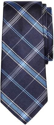 Brooks Brothers Windowpane Plaid Silk Tie