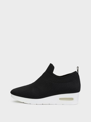 DKNY Angie Slip On Low Wedge Sneaker