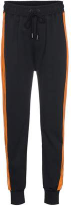 Ganni Presbourg striped track pants