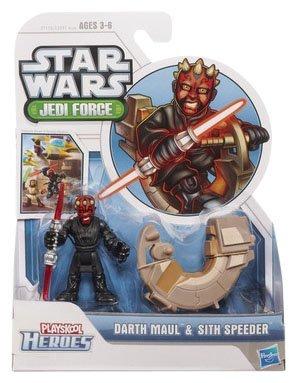 Star Wars Jedi Force Darth Maul & Sith Speeder