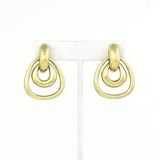 VAUBEL Double Hoop Doorknocker Clip On Earrings