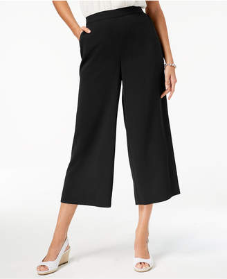 Charter Club Cropped Wide-Leg Pants, Created for Macy's