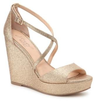 Badgley Mischka Averie Wedge Sandal