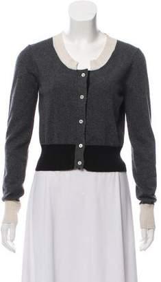 Aquilano Rimondi Aquilano.Rimondi Wool & Cashmere-Blend Colorblock Cardigan