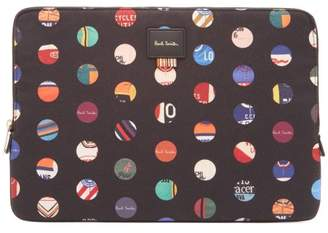 Paul Smith Cycle Jersey Laptop Case - Mens - Black