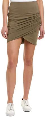 Michael Stars Cross Front Mini Skirt
