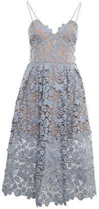 Self-Portrait 3d Lace Azalea Dress