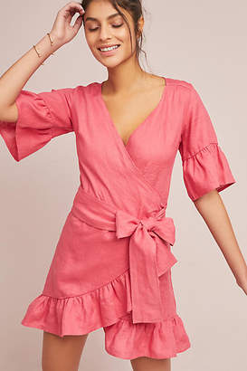 4OUR Dreamers Talulah Linen Wrap Dress