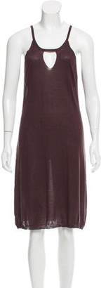 Inhabit Scoop Neck Knee-Length Dress w/ Tags