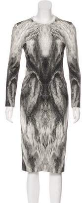 Alexander McQueen Midi Sheath Dress