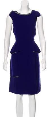 Thakoon Wool and Silk Dress
