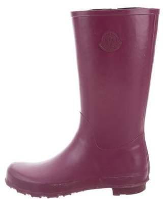 Moncler Rubber Rain Boots