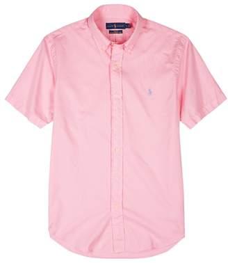 Polo Ralph Lauren Pink Cotton Twill Shirt