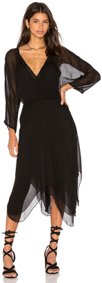Line & Dot Azure Kimono Dress $182 thestylecure.com
