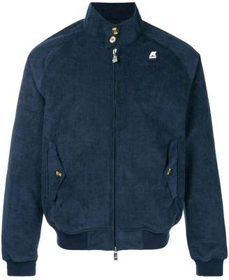 K-Way zipped bomber jacket