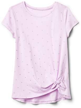 Gap Knot-Hem T-Shirt