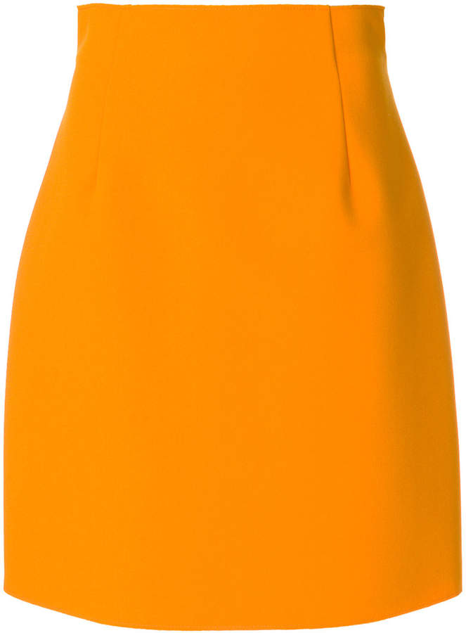 MSGM high rise mini skirt