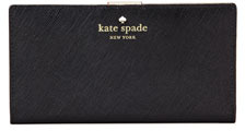 Kate Spade Mikas Pond Stacy Continental Wallet, Black