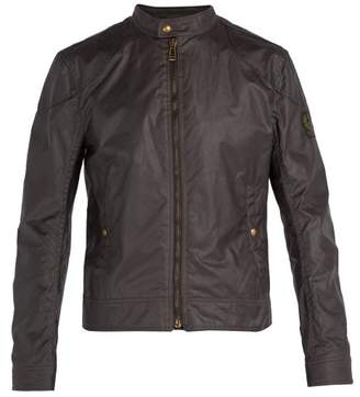 Belstaff Kelland Waxed Cotton Jacket - Mens - Dark Purple