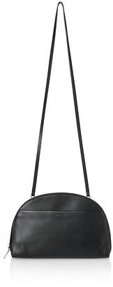 Whistles Corso Half Moon Large Leather Shoulder Bag $299 thestylecure.com