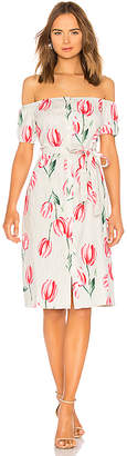 L'Academie The Callao Midi Dress