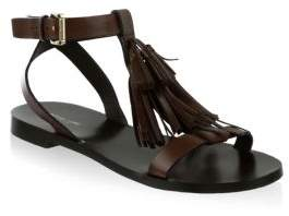 Michael Kors Collection Steffi Leather Sandals