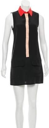Equipment Silk Mini Skirt
