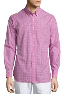 Polo Ralph Lauren Plaid Poplin Button-Down Shirt