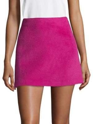 Helmut Lang Re-Edition Wool-Blend Mini Skirt