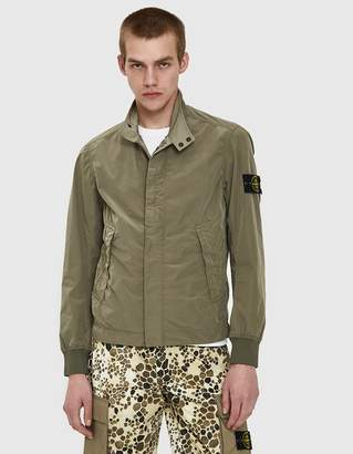 Stone Island David Tela Light-TC Field Jacket Capi Spalla in Dove Grey