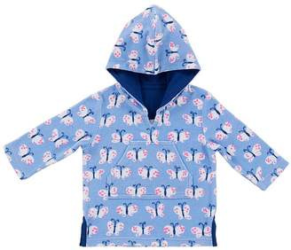 Pottery Barn Kids Allover Butterfly Nursery Beach Cover-Up, 6-12 Months, Multi