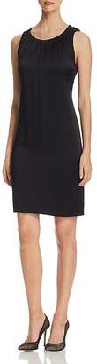 BOSS Daviana Shirred Shift Dress