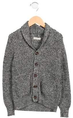 Anais & I Girls' Shawl Collar Button-Up Cardigan