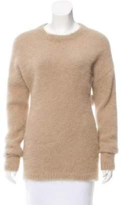 Rochas Angora Crew Neck Sweater w/ Tags