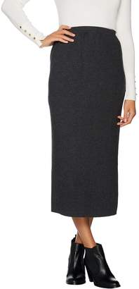 Linea By Louis Dell'olio by Louis Dell'Olio Whisper Knit Midi Skirt