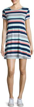 ARIZONA Arizona Short Sleeve Swing Dresses-Juniors $34 thestylecure.com