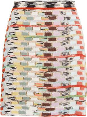 Missoni Open Knit Mini Skirt