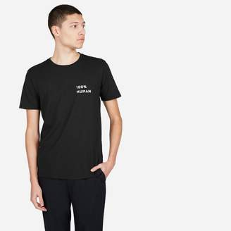 Everlane The Human Unisex Crew in Small Print