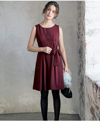 anySiS (エニィスィス) - any SiS L ジョーゼットリボン ドレス エニィスィス ワンピース