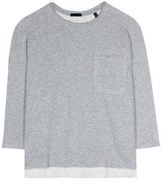 ATM Anthony Thomas Melillo Cotton-blend sweatshirt