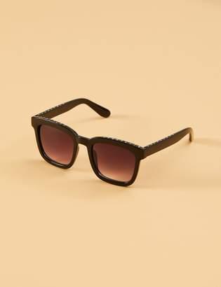 Lane Bryant Pave Square Sunglasses