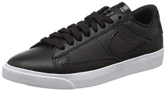 Nike Women's W Blazer Low Ess Basketball Shoes, Black 001
