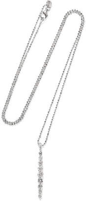 Anita Ko Twiggy 18-karat White Gold Diamond Necklace