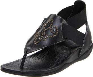 Rockport Women's Trujoris Gore Ankle-Strap Sandal