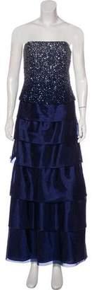 Jovani Embellished Tiered Dress