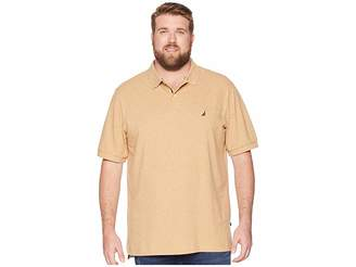 Nautica Big Tall Short Sleeve Solid Deck Shirt