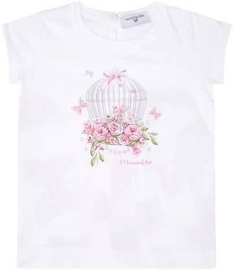 MonnaLisa Graphic Floral T-Shirt